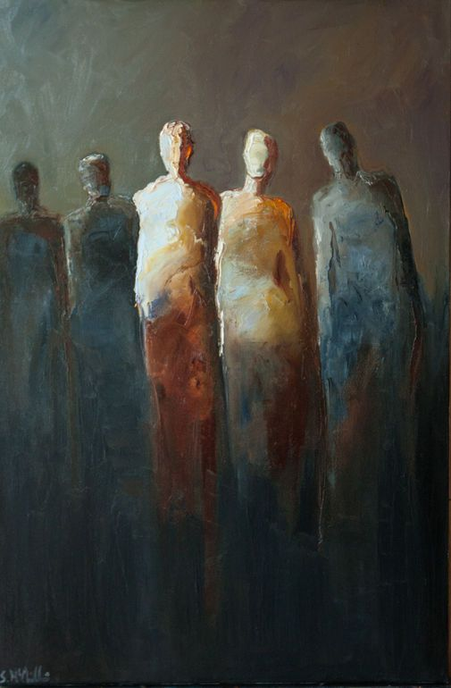 Expressionist painting by Shelby McQuilkin