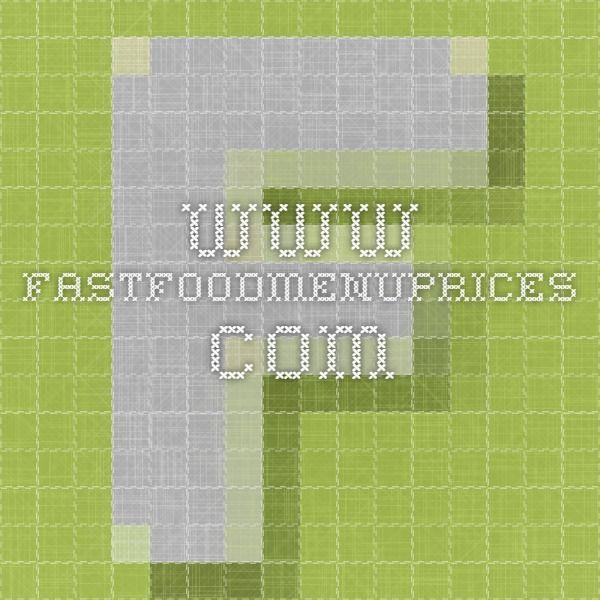 www.fastfoodmenuprices.com