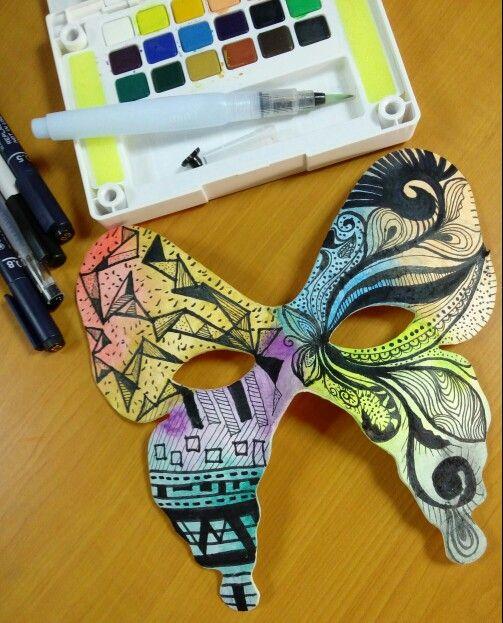 Two face #day7 #30daysofchallangeshavefuninramadhan #ramadhanmubarok #doodlelover #mask #color #dkvtrilogi #fiktrilogi #trilogi #indonesia
