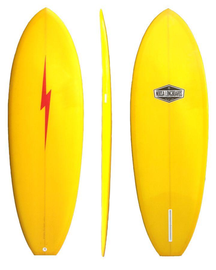 wide tailed single fin surfboards | Single Fin
