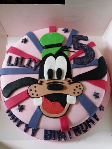 17 Best Ideas About Goofy Cake On Pinterest Mickey Mouse