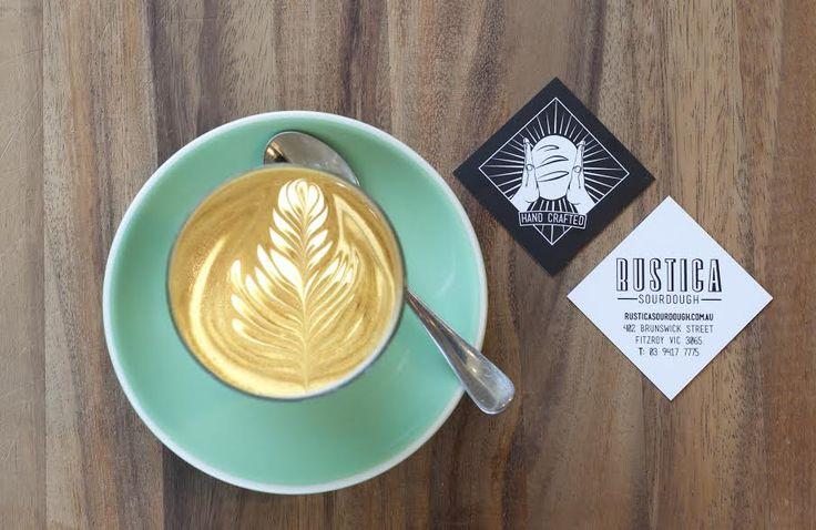 Business Card Design for Rustica Sourdough
