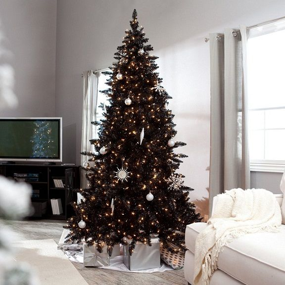 Black And White Christmas Decoration Ideas: 1000+ Ideas About Black Christmas Trees On Pinterest