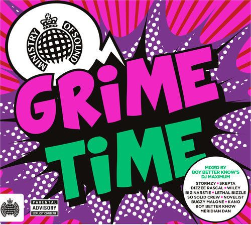 Various Artists  Ministry of Sound: Grime Time [New CD] UK  Import