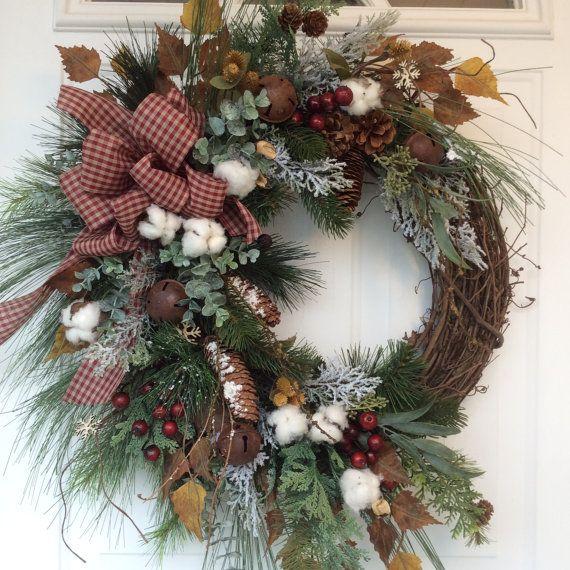 Guirnalda de invierno-Navidad guirnalda fiesta por ReginasGarden
