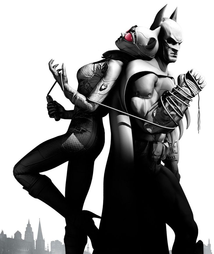Catwoman & Batman - Pictures & Characters Art - Batman: Arkham City