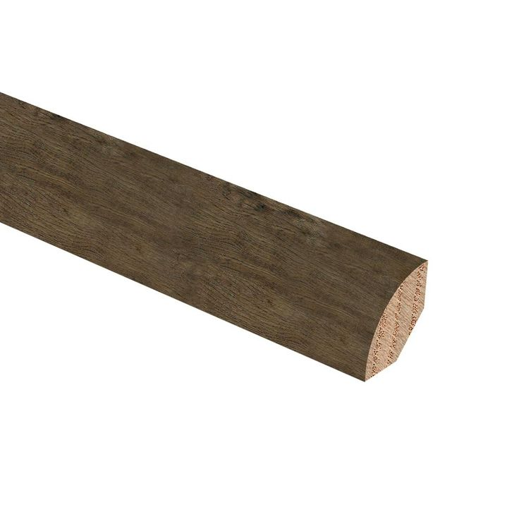 Hickory Ash Gray 3/4 in. Thick x 3/4 in. Wide x 94 in. Length Hardwood Quarter Round Molding