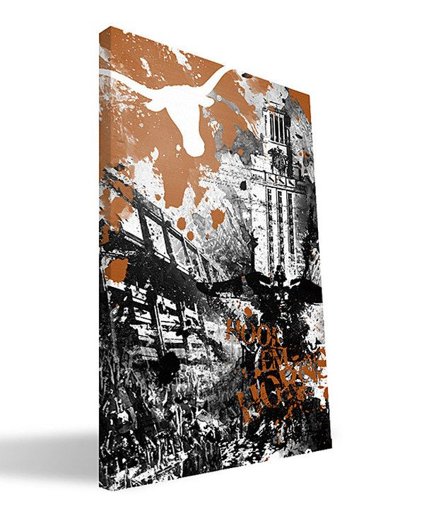 Look at this #zulilyfind! Texas Longhorns Spirit Wall Art by Paulson Designs #zulilyfinds