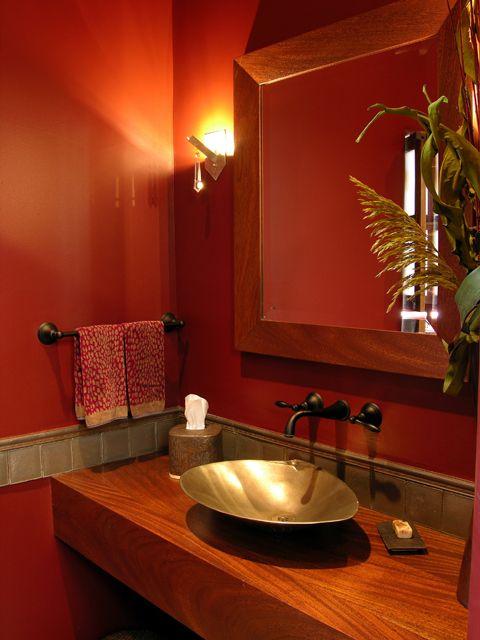 16 best southwest spanish craftsmen images on pinterest for Santa fe style bathroom ideas
