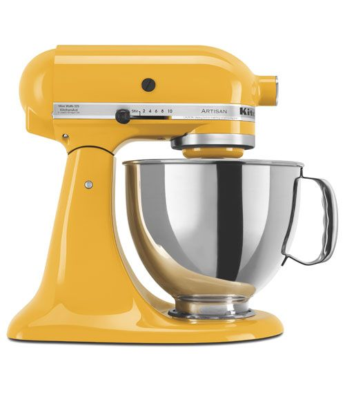 Our top performer, this classic model comes in twenty-five colors, including yellow pepper and cobalt blue; when it's not in use, it will make a design statement on your countertop (kitchenaid.com  - GoodHousekeeping.com