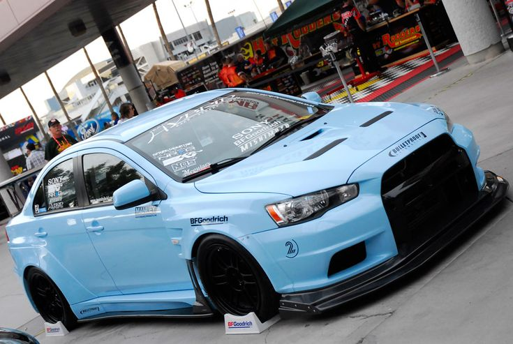 team hybrids custom mitsubishi lancer evolution x features performance air filter at sema knfilters cars jdm pinterest performance air filters
