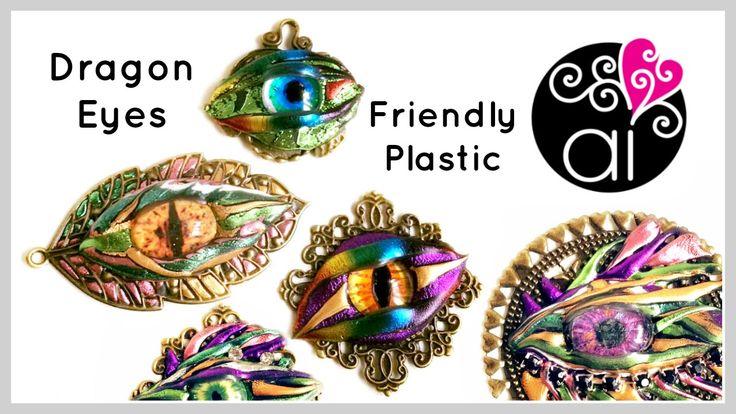 Come Fare Occhi di Drago con la Friendly Plastic | DIY Dragon Eyes Tutorial