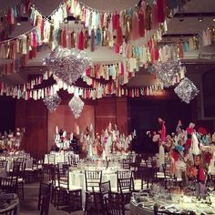 confetti system New York Academy of Art Dinner