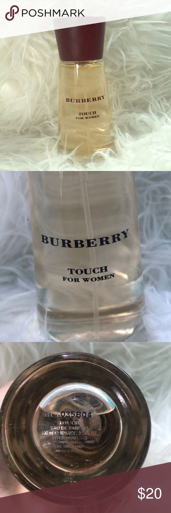Burberry Touch for Woman EDP Barely used 100ml/3.3fl oz bottle of Burberry touch for woman. Eau de Parfum. No box included Burberry Other