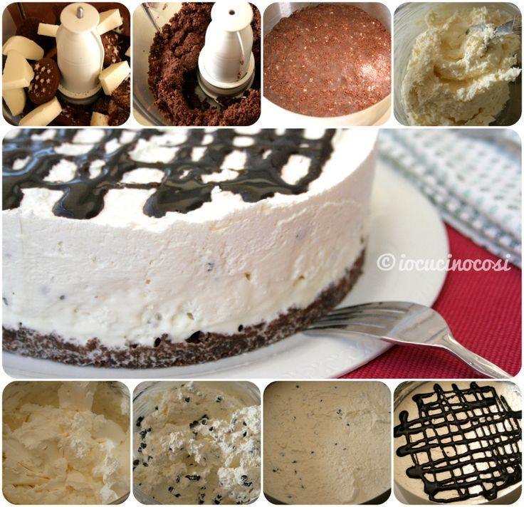 Cheesecake facile e veloce senza cottura e senza colla di pesce