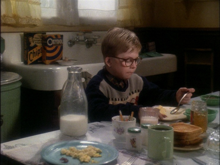 never noticed the fiestaware on the table.