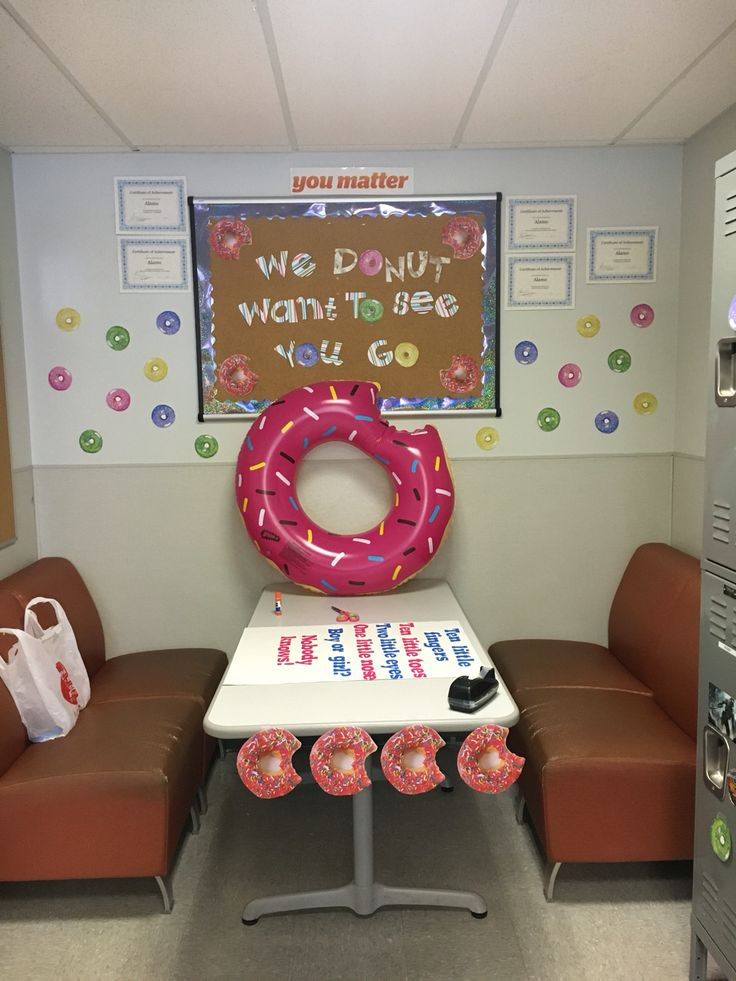 Going away party , donut theme. Workplace appropriate | My ...