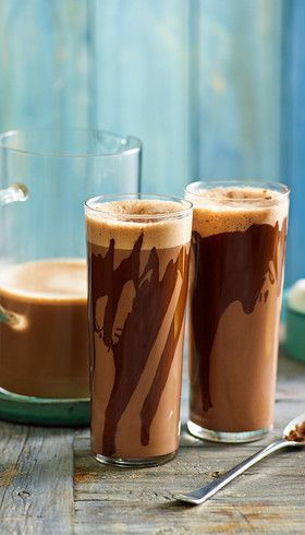 Elegant hot chocolate: Gentle notes of cinnamon and cardamom add a touch of class to each smooth glass.