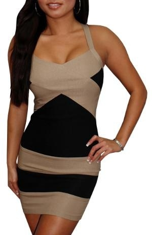 County Line (Tan\ Black)-Great Glam is the web\s top online shop for trendy clubbin styles, fashionable party dress and bar wear, super hot clubbing clothing, stylish going out shirt, partying clothes, super cute and sexy club fashions, halter and tube top my-virtual-closet