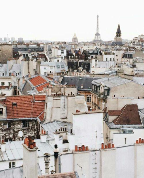 feelikeadoll: Parisian rooftops
