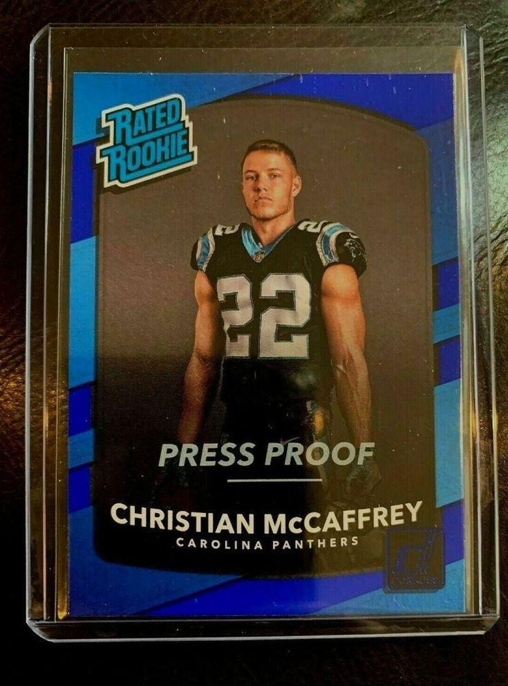 2017 press pass donruss christian mccaffrey rated rookie