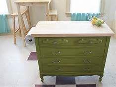 Kitchen Island Made From A Dresser 96 best old dresser into kitchen island images on pinterest