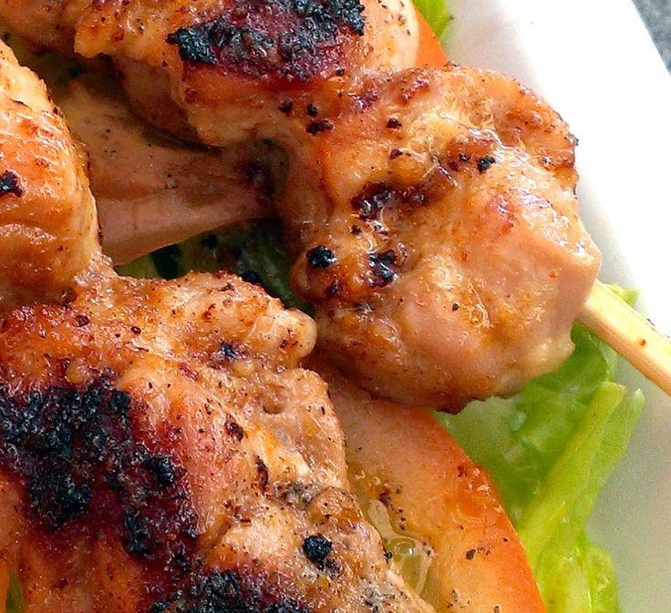 Jerk Chicken kebabs www.bonpussy.com.au