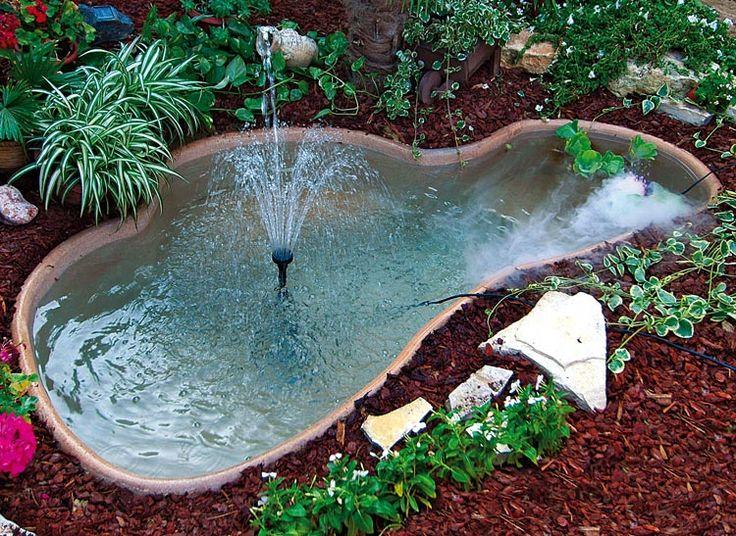 17 migliori idee su laghetti da giardino su pinterest - Laghetto giardino ...