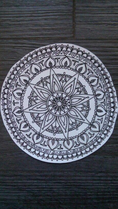 Mandala tatoo idea, Create by me