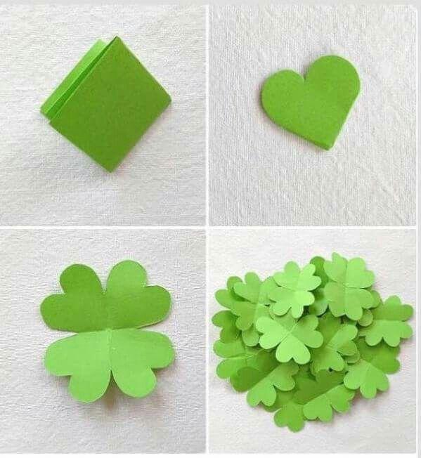 Bildergebnis für glücksbringer basteln aus papier