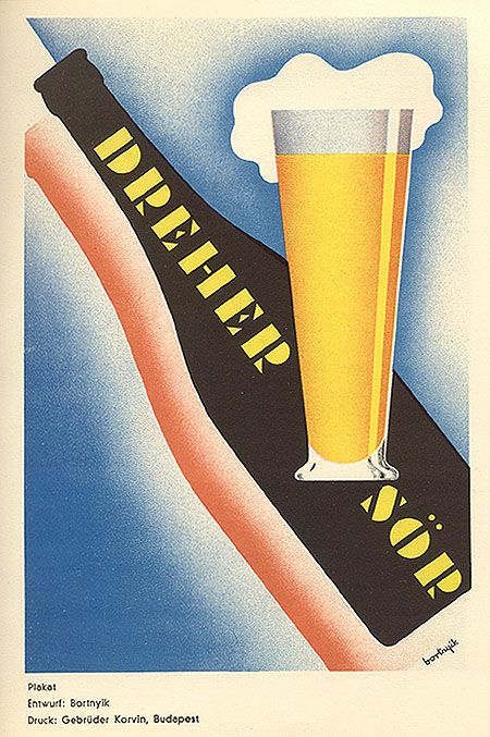 """Poster for """"Dreher Sör,"""" 1930"""