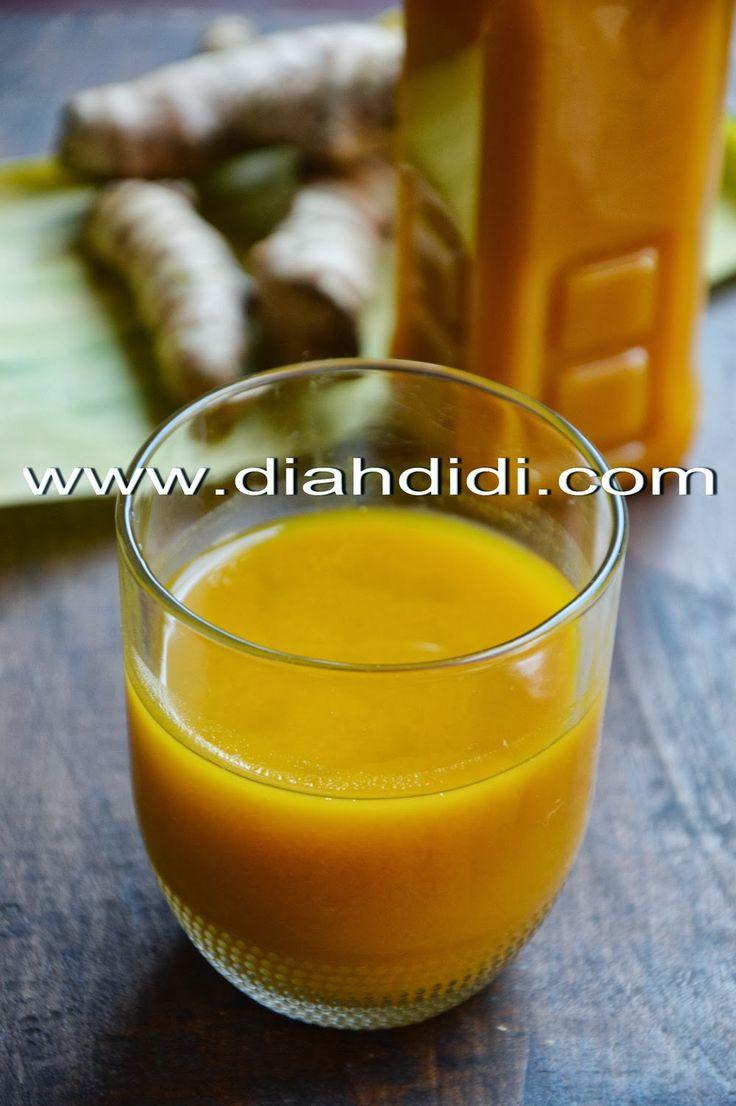 Diah Didi's Kitchen: Jamu Kunir Asem ( Kunyit Asam )