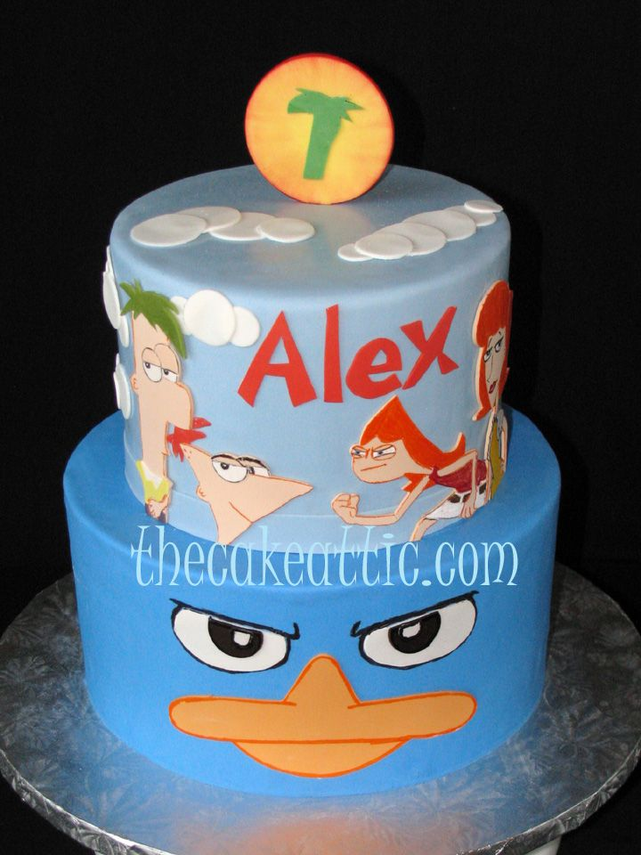 phineas and ferb cake | phineas and ferb - Cake Decorating Community - Cakes We Bake