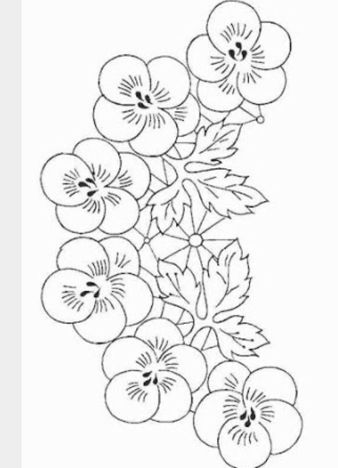 2648 best Embroidery Florals images on Pinterest