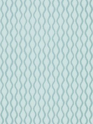 DecoratorsBest - Detail1 - Sch 5005162 - Ribbon Wave - Aqua - Wallpaper - - DecoratorsBest