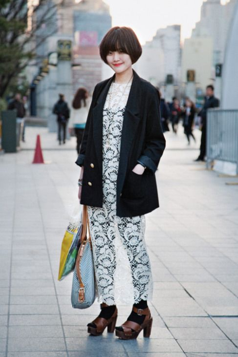 Korean Street Style: Fashion show di Jalanan ala Gadis-gadis Korea | Fashion Circle