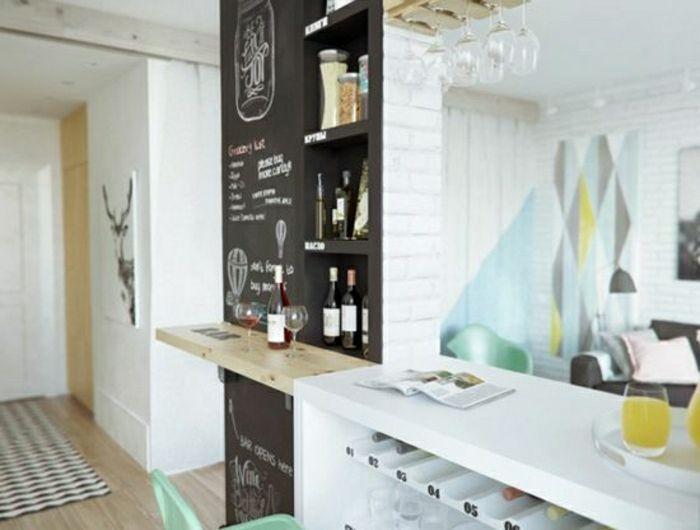 16 best images about Deco cuisine et salle à manger on Pinterest - amenager une cuisine ouverte