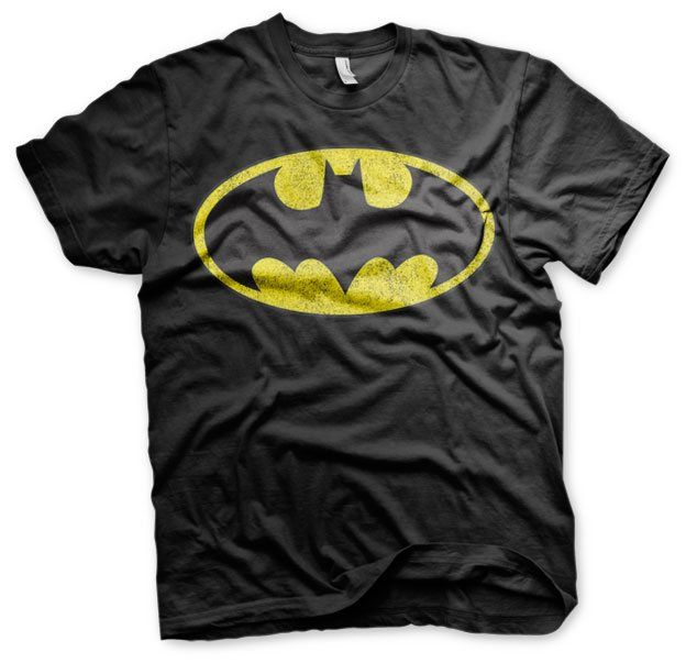 Batman Distressed Logo T-Shirt  Hybris  Mens T-Shirts, Superman www.detoyboys.nl