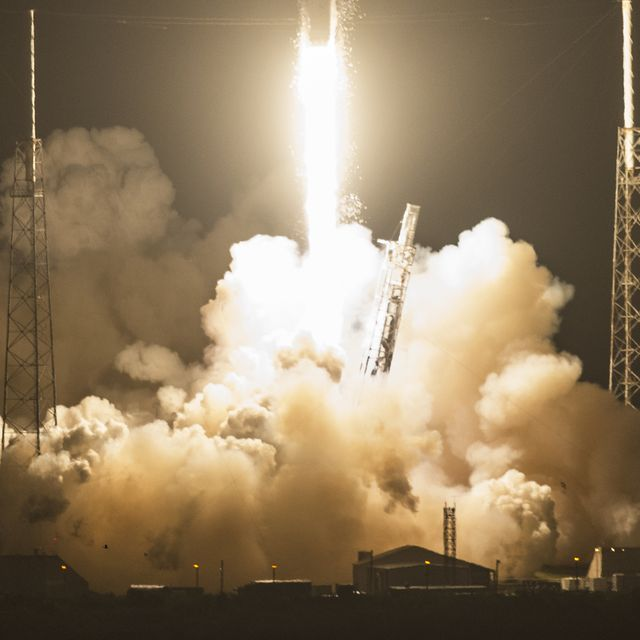 Deep Space Climate Observatory will be sent into space on a Falcon 9 rocket.