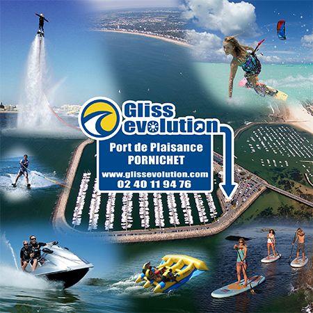 Mise à jour des activités Nautiques pour les groupes :  Enterrements de vie de garçons, de jeunes filles (EVG-EVJF), comités d'entreprises (CE), séminaires d'entreprises, séjours incentive, centres de loisirs, maisons de quartier…  Rdv ici : http://bzh.me/f9y5     Glissevolution – Ecole et cours de kitesurf, location et randonnées en Jet-ski, Flyboard, Ski nautique, wakeboard, Flyfish, Stand up Paddle, voilerie, surf-shop à La Baule / Pornichet – Loire Atlantique