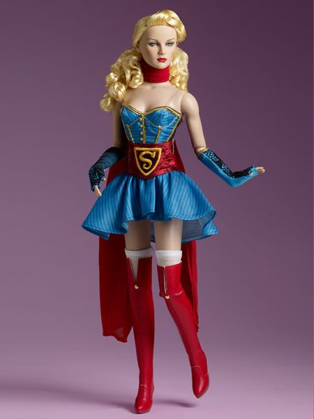 Bombshell - SUPERGIRL™ | Tonner Doll Company. I don't have room for dolls, but I kind of want her. I will probably try to get her outfit at least.