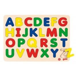 Buntes Einlegepuzzle ABC, Holzspielzeug, www.holzdingens.de