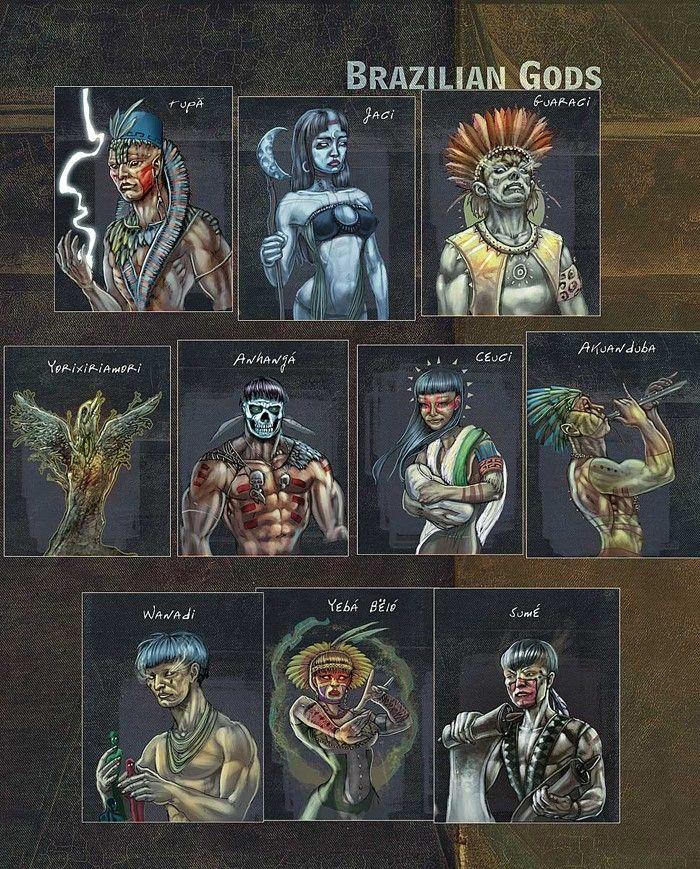 Deuses dos índios brasileiros