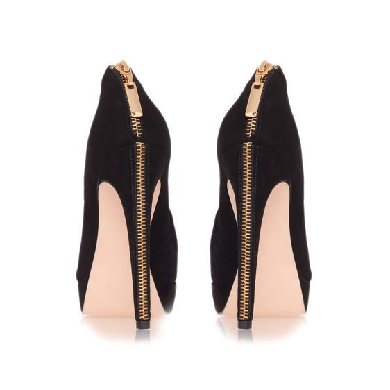 Kurt Geiger… Love the zip detail - Find 150+ Top Online Shoe Stores via http://AmericasMall.com/categories/shoes.html
