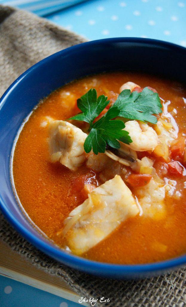 Śródziemnomorska zupa rybna / mediterranean fish soup