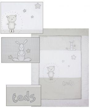 Belily World - Krabbeldecke Teddy-Teds