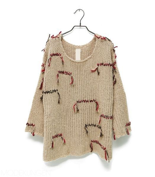 easy way to add color and fringe to machine knit or thrift find