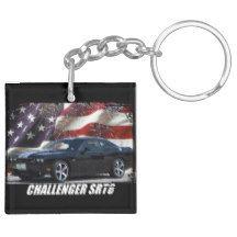 2011 Challenger SRT8 Keychain