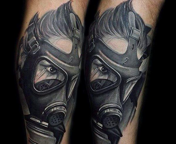 41 best images about face mask tattoo designs on pinterest for Face mask tattoo