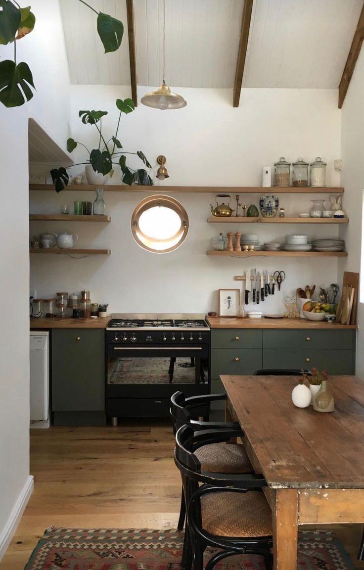 Eine klassische und moderne Küche zugleich ist es, …